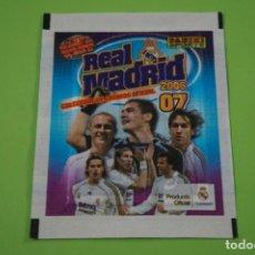 Cromos de Fútbol: SOBRE DE CROMOS DE FÚTBOL SIN ABRIR DE REAL MADRID 2006-2007/06-07 DE PANINI. Lote 152593270