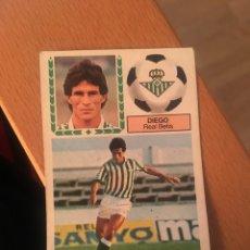 Cromos de Fútbol: ESTE 83 84 1983 1984 DESPEGADO BETIS DIEGO. Lote 152593274