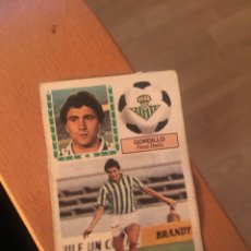 Cromos de Fútbol: ESTE 83 84 1983 1984 DESPEGADO BETIS GORDILLO. Lote 152593304