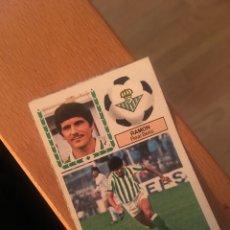 Cromos de Fútbol: ESTE 83 84 1983 1984 DESPEGADO BETIS RAMÓN. Lote 152593316