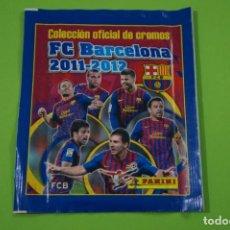 Cromos de Fútbol: SOBRE DE CROMOS DE FÚTBOL SIN ABRIR DE F.C.BARCELONA 2011-2012/11-12 DE PANINI. Lote 152593362