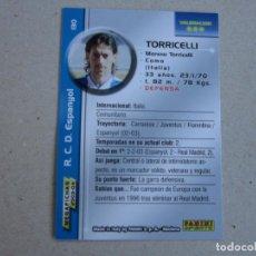 Cromos de Fútbol: PANINI MEGAFICHAS 2003 2004 CORREGIDO Nº 130 TORRICELLI ESPANYOL MEGACRACKS 03 04. Lote 152660334
