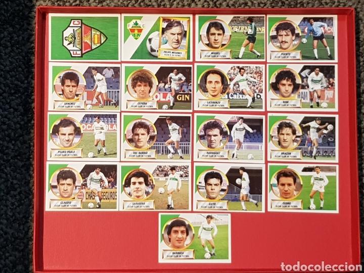ESTE 1988-1989 ELCHE 17 CROMOS NUNCA PEGADOS 88-89 (Coleccionismo Deportivo - Álbumes y Cromos de Deportes - Cromos de Fútbol)
