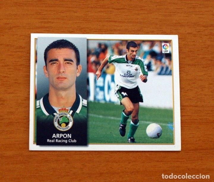 RACING DE SANTANDER - ARPÓN - BAJA - EDICIONES ESTE 1998-1999, 98-99 - NUNCA PEGADO (Coleccionismo Deportivo - Álbumes y Cromos de Deportes - Cromos de Fútbol)