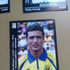 Cromos de Fútbol: EDICIONES PANINI 00 01 2000 2001 AMOR VILLARREAL NUNCA PEGADO. Lote 152796954
