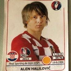 Cromos de Fútbol: ALEN HALILOVIĆ, CROACIA. UEFA EURO 2016 FRANCIA. CROMO Nº 452, STICKER. PANINI. NUEVO.. Lote 153050006