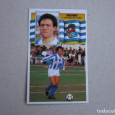 Cromos de Fútbol - ESTE 90 91 AGUIRRE REAL SOCIEDAD 1990 1991 NUEVO - 153267606