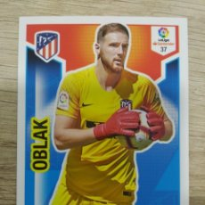 Cromos de Fútbol: 37 OBLAK ATLETICO MADRID ADRENALYN XL PANINI 2018 2019 18 19. Lote 153508730
