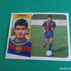 Cromos de Fútbol: GUARDIOLA - BARCELONA - CROMO EDICIONES ESTE 1991-92 - RECUPERADO DE ÁLBUM - 91/92 . Lote 128237163