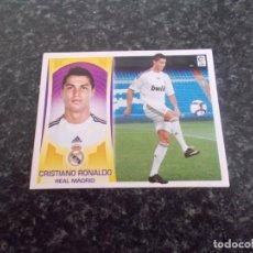 Cromos de Fútbol: ESTE 2009/2010/ 09/10 // VERSION CRISTIANO RONALDO ( REAL MADRID ) NUNCA PEGADO. Lote 179534921