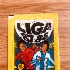 Cromos de Fútbol: SOBRE ESTE 87-88 (SIN ABRIR) - TRASERA AMARILLA. Lote 154304454