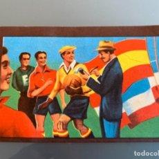 Cromos de Fútbol: CROMO FUTBOL 1922 TUPINAMBA PARTIDOS INTERNACIONALES. Lote 154304878