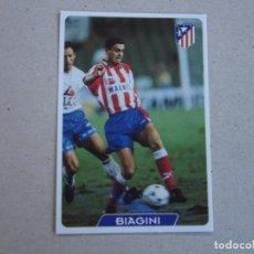 Cromos de Fútbol: MUNDICROMO FICHAS LIGA 95 96 ULTIMA HORA Nº 249 UH BIAGINI ATLETICO MADRID 1995 1996. Lote 227775435