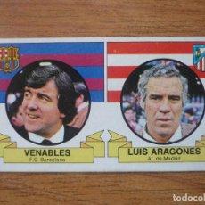 Cromos de Fútbol: CROMO ALBUM LIGA ESTE 85 86 VENABLES (BARCELONA) LUIS (ATLETICO MADRID) NUNCA PEGADO 1985 1986 BARÇA. Lote 154404398