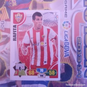 Nº 2 Rafira U.D. Almería. Adrenalyn 2013 2014 13 14 Panini. Trading card game. Liga BBVA