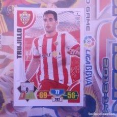 Cromos de Fútbol: Nº 4 TRUJILLO U.D. ALMERÍA. ADRENALYN 2013 2014 13 14 PANINI. TRADING CARD GAME. LIGA BBVA. Lote 154616614