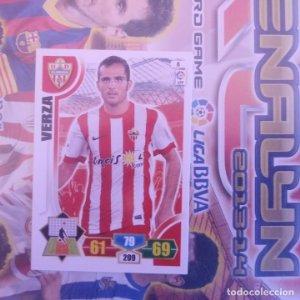 Nº 6 Verza U.D. Almería. Adrenalyn 2013 2014 13 14 Panini. Trading card game. Liga BBVA