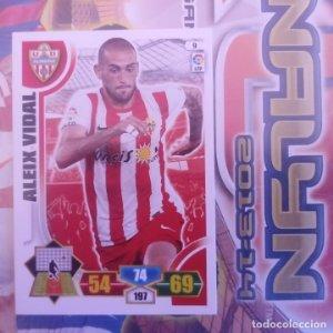 Nº 9 Aleix VIdal U.D. Almería. Adrenalyn 2013 2014 13 14 Panini. Trading card game. Liga BBVA