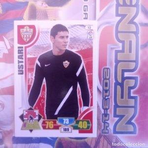 Nº 12 Ustrai U.D. Almería. Adrenalyn 2013 2014 13 14 Panini. Trading card game. Liga BBVA