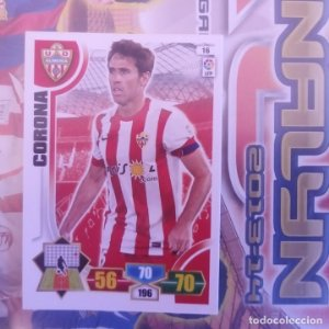 Nº 16 Corona U.D. Almería. Adrenalyn 2013 2014 13 14 Panini. Trading card game. Liga BBVA