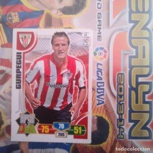 Nº 21 Gurpegui Athletic Club Bilbao. Adrenalyn 2013 2014 13 14 Panini. Trading card game. Liga BBVA