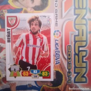 Nº 24 Beñat Athletic Club Bilbao. Adrenalyn 2013 2014 13 14 Panini. Trading card game. Liga BBVA