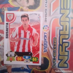 Nº 26 Susaeta Athletic Club Bilbao. Adrenalyn 2013 2014 13 14 Panini. Trading card game. Liga BBVA