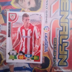 Nº 28 Muniain Athletic Club Bilbao. Adrenalyn 2013 2014 13 14 Panini. Trading card game. Liga BBVA