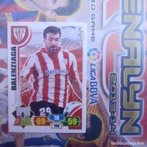Nº 32 Balenziaga Athletic Club Bilbao Adrenalyn 2013 2014 13 14 Panini. Trading card game. Liga BBVA