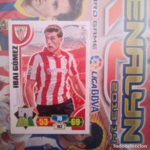 Nº 35 Ibai Gómez Athletic Club Bilbao Adrenalyn 2013 2014 13 14 Panini. Trading card game. Liga BBVA