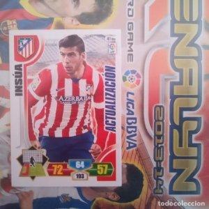Nº 41 bis Insúa Atlético de Madrid Adrenalyn 2013 2014 13 14 Panini. Trading card game. Liga BBVA