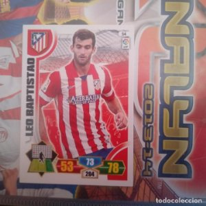 Nº 54 Leo Baptistao Atlético de Madrid Adrenalyn 2013 2014 13 14 Panini. Trading card game Liga BBVA