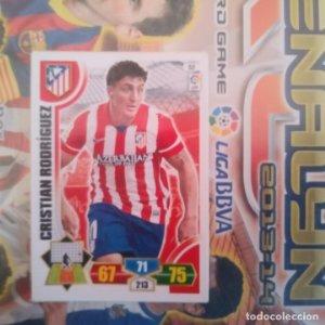 Nº 52 Cristian Rodríguez Atlético de Madrid Adrenalyn 2013 2014 13 14 Panini. Trading card game