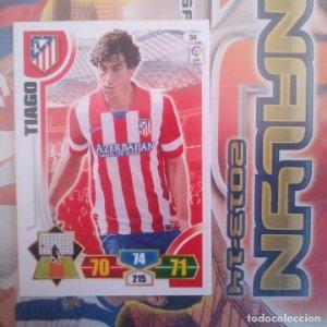 Nº 50 Tiago Atlético de Madrid Adrenalyn 2013 2014 13 14 Panini. Trading card game Liga BBVA