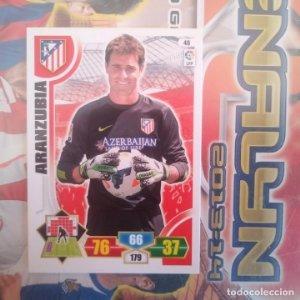 Nº 48 Aranzubia Atlético de Madrid Adrenalyn 2013 2014 13 14 Panini. Trading card game Liga BBVA