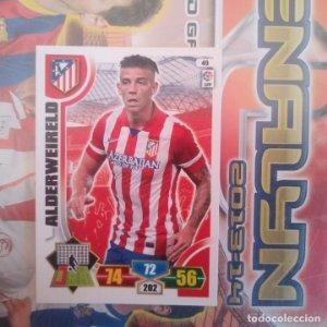 Nº 49 Alderweireld Atlético de Madrid Adrenalyn 2013 2014 13 14 Panini. Trading card game Liga BBVA