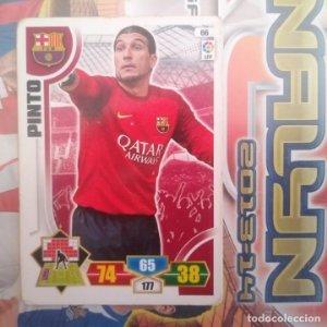 Nº 66 Pinto F.C. Barcelona Adrenalyn 2013 2014 13 14 Panini. Trading card game Liga BBVA