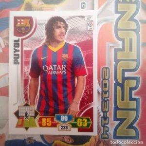 Nº 67 Puyol F.C. Barcelona Adrenalyn 2013 2014 13 14 Panini. Trading card game Liga BBVA