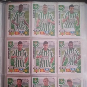 Nº 75 Paulao Real Betis Balompié Adrenalyn 2013 2014 13 14 Panini. Trading card game Liga BBVA