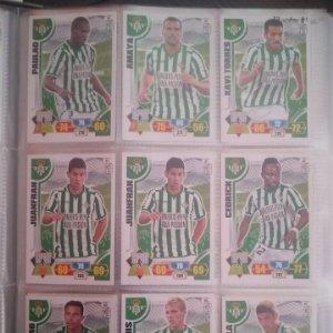 Nº 81 Juanfran Real Betis Balompié Adrenalyn 2013 2014 13 14 Panini. Trading card game Liga BBVA