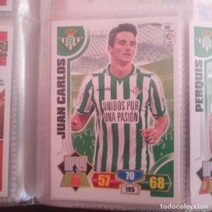 Nº 88 Juan Carlos Real Betis Balompié Adrenalyn 2013 2014 13 14 Panini Trading card game Liga BBVA
