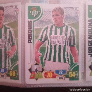 Nº 85 Perquis Real Betis Balompié Adrenalyn 2013 2014 13 14 Panini Trading card game Liga BBVA