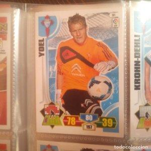 Nº 91 Yoel. Celta de vigo. Adrenalyn 2013 2014 13 14 Panini. Trading card game. Liga BBVA