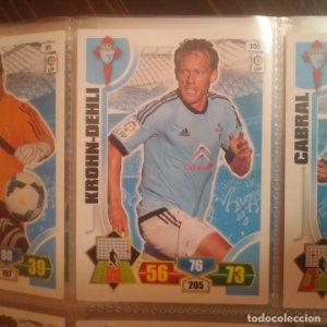 Nº 105 Krohn-Deli. Celta de vigo. Adrenalyn 2013 2014 13 14 Panini. Trading card game. Liga BBVA