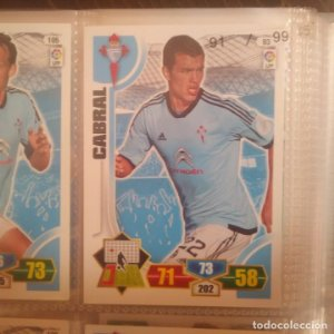 Nº 93 Cabral. Celta de Vigo. Adrenalyn 2013 2014 13 14 Panini. Trading card game. Liga BBVA