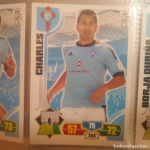 Nº 100 Charles. Celta de Vigo. Adrenalyn 2013 2014 13 14 Panini. Trading card game. Liga BBVA