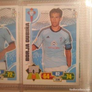 Nº 96 Borja Oubiña. Celta de Vigo. Adrenalyn 2013 2014 13 14 Panini. Trading card game. Liga BBVA