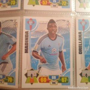 Nº 106 Madinda. Celta de Vigo. Adrenalyn 2013 2014 13 14 Panini. Trading card game. Liga BBVA