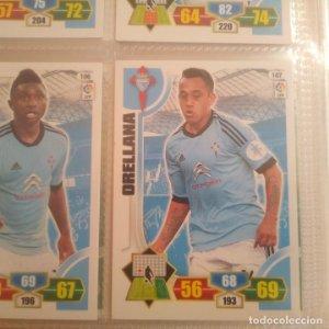 Nº 107 Orellana. Celta de Vigo. Adrenalyn 2013 2014 13 14 Panini. Trading card game. Liga BBVA