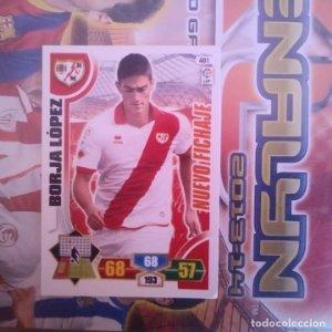 Nº 478 Borja López. Nuevo fichaje Rayo Vallecano. Adrenalyn 2013 2014 13 14 Panini. Liga BBVA